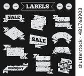 stickers  tags and banners with ...   Shutterstock .eps vector #481768903