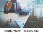 medical technology concept.... | Shutterstock . vector #481829533
