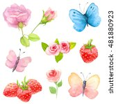Watercolor Nature Clipart. ...