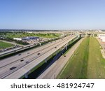 aerial view interstate 10 or... | Shutterstock . vector #481924747