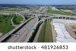 aerial view interstate 10 or... | Shutterstock . vector #481926853