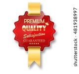 golden premium quality red best ... | Shutterstock .eps vector #481938997
