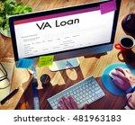 Small photo of VA Loan Veterans Affair Concept