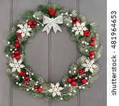 Christmas Wreath Decoration...