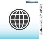 global vector icon   Shutterstock .eps vector #481986673