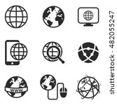 internet vector icons. simple...