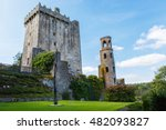 medieval blarney castle in co....