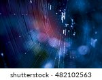beauty design spider web... | Shutterstock . vector #482102563