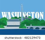 washington | Shutterstock .eps vector #482129473