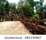 siem reap  cambodia   august... | Shutterstock . vector #482159887