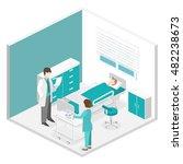 isometric flat interior of...   Shutterstock .eps vector #482238673