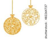 vector illustration. shining... | Shutterstock .eps vector #482264737