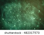 abstract bright glitter green... | Shutterstock . vector #482317573