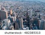 philadelphia aerial view pano... | Shutterstock . vector #482385313
