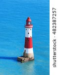 beachy head lighthouse with...   Shutterstock . vector #482387257