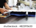 garment factory.cutting room ... | Shutterstock . vector #482395633