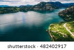 norway  aerial photos ... | Shutterstock . vector #482402917