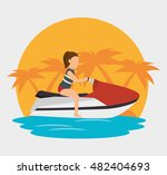 extreme sports design isolated | Shutterstock .eps vector #482404693