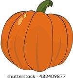 pumpkin illustration   Shutterstock .eps vector #482409877