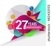 27 Years Anniversary Logo ...