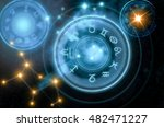 astrology horoscope background | Shutterstock . vector #482471227