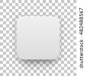white abstract app icon  blank... | Shutterstock .eps vector #482488567