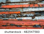 dirty metal background | Shutterstock . vector #482547583