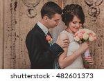 Beautiful Couple In Wedding...