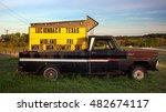 luckenbach  texas   april 6 ... | Shutterstock . vector #482674117