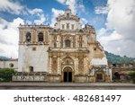 san francisco church    antigua ... | Shutterstock . vector #482681497