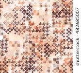 abstract seamless pattern... | Shutterstock . vector #482685007