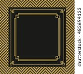 Great gatsby free vector art 352 free downloads vector illustration of frames invitation cards templates in art deco style stopboris