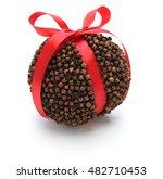 Orange Pomander Ball