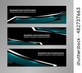 business banners abstract... | Shutterstock .eps vector #482737663
