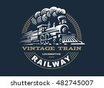 Locomotive Logo Illustration ...