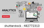web analytics seo search engine ... | Shutterstock .eps vector #482772313