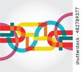 abstract pattern for branding | Shutterstock .eps vector #482789377