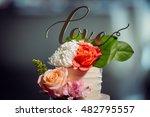 wedding cake | Shutterstock . vector #482795557