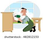vector illustration of a... | Shutterstock .eps vector #482812153