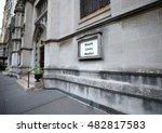 black lives matter written on a ... | Shutterstock . vector #482817583