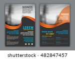 abstract  business  brochure... | Shutterstock .eps vector #482847457