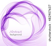 abstract purple background with ... | Shutterstock .eps vector #482907637
