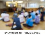 blurred image   a group of... | Shutterstock . vector #482932483