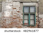 old bricked up window on a... | Shutterstock . vector #482961877