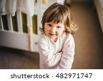 portrait of young girl in the... | Shutterstock . vector #482971747