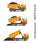 vector illustration in flat... | Shutterstock .eps vector #482976133