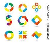 infographic set vector... | Shutterstock .eps vector #482979997