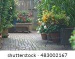 garden | Shutterstock . vector #483002167