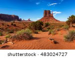 West Thumb In Monument Valley ...