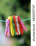 Seven Plastic Colorful Bright...